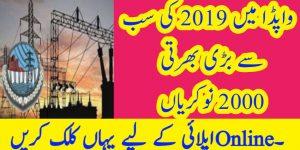 Wapda jobs 2019 Advertisement