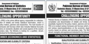 Latest Jobs in Pakistan-Bureau-of-Statistics-2019-Thumnail