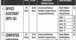 Agriculture Jobs 2020 in Peshawar KPK.