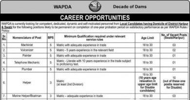 Jobs-in-Wapda