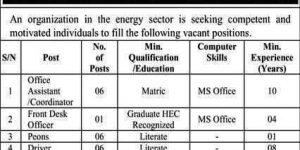 Government Job in Pakistan Latest