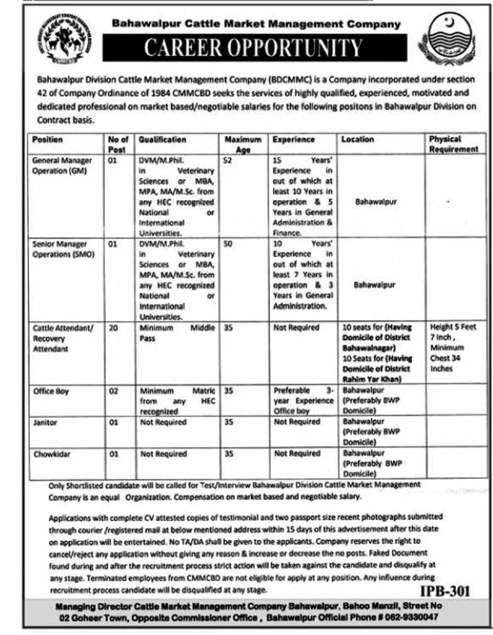 Govt Jobs Vacancies