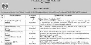 Govt Pak Jobs