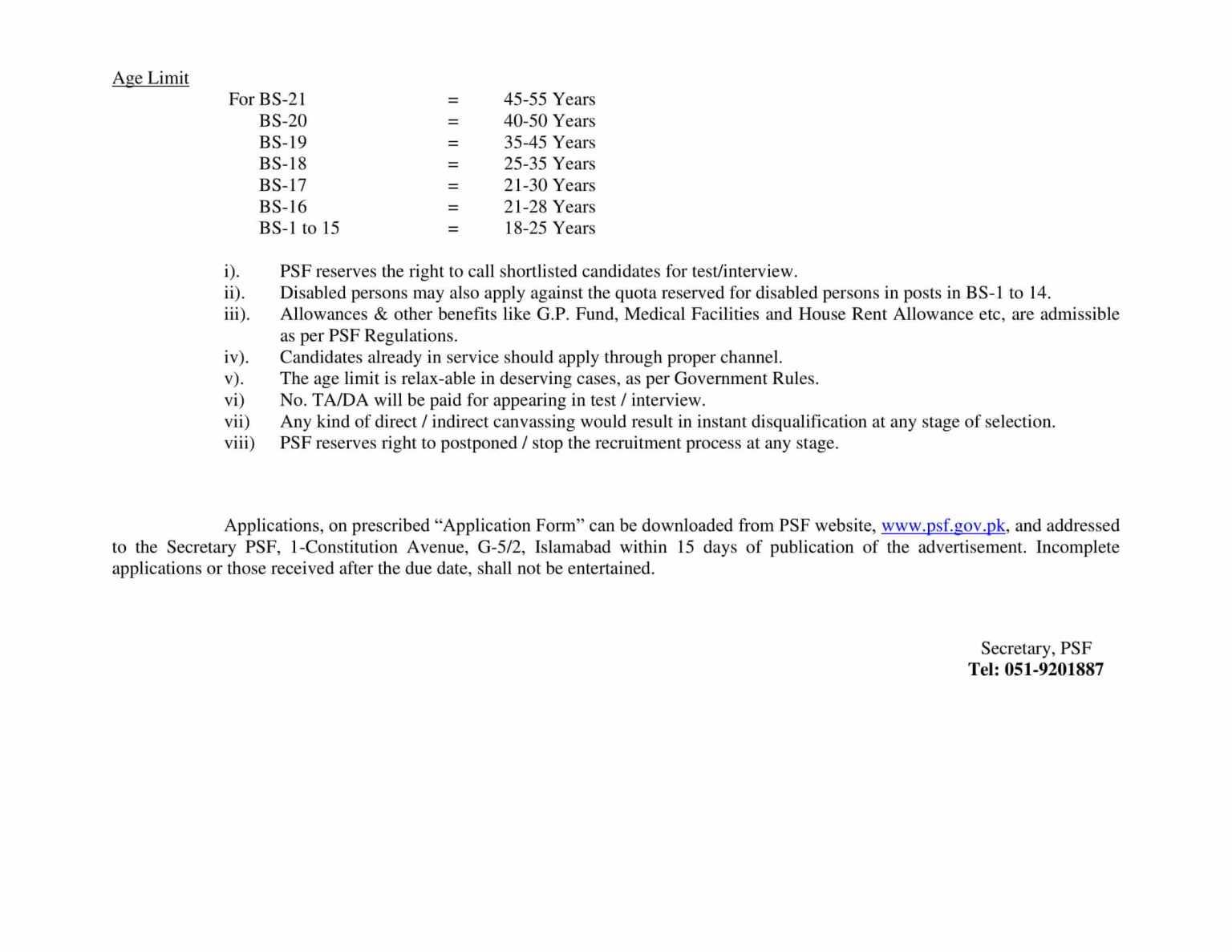 Govt Pak Jobs april 2021