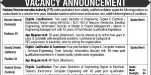 Job Vacancies in Pakistan