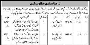 Today Jobs in Peshawar