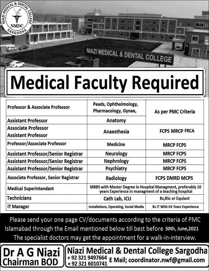 Pakistan Medical Jobs
